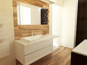 Koncepcja łazienki w drewnie