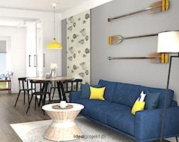 Salon z aneksem kuchennym. - zdjęcie od idea projekt - Homebook