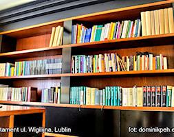 mieszkanie ul.Wigilijna Lublin - Małe żółte biuro, styl nowoczesny - zdjęcie od Auraprojekt