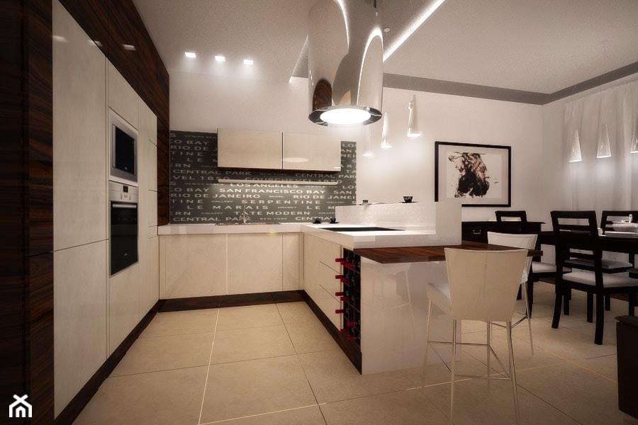 Kuchnia, styl nowoczesny  zdjęcie od 3ESDESIGN -> Waniliowa Kuchnia Jakie Dodatki