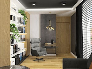 Projektowanie wnętrz Kraków -domowe biuro