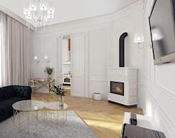 Projekt salonu Kraków - zdjęcie od 3ESDESIGN