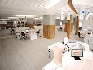 Pomieszczenia biurowe_aranżacja