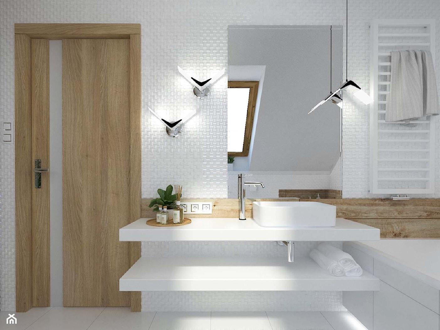 Aranżacja łazienki Katowice - zdjęcie od 3ESDESIGN - Homebook
