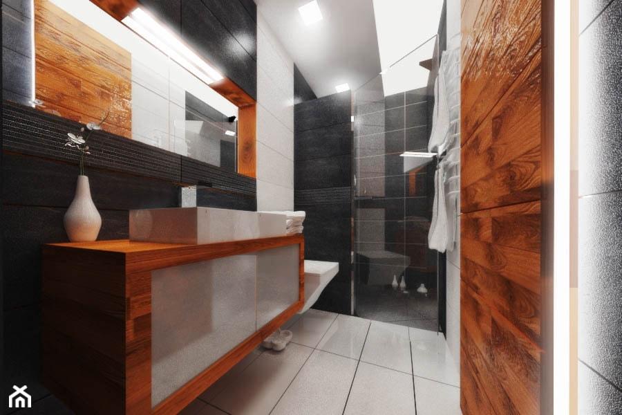 Projekt Aranżacji Wnętrzdom Nowy Sącz łazienka Styl