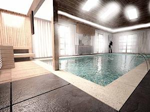 Projekt aranżacji basenu_Kraków