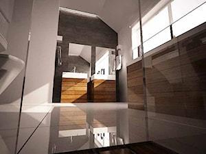 Projekt aranżacji nowoczesnej łazienki