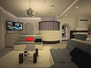 Aranżacja salonu w stylu nowoczesnym