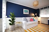 modne kolory ścian w salonie 2020
