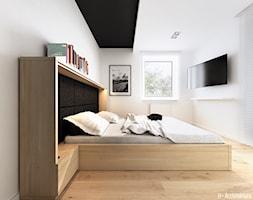 Konwaliowa 02   Turka - Sypialnia, styl nowoczesny - zdjęcie od H+ Architektura - Homebook