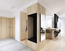 Konwaliowa 02   Turka - Hol / przedpokój, styl nowoczesny - zdjęcie od H+ Architektura - Homebook