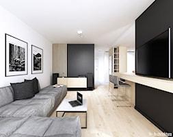 Konwaliowa 02   Turka - Salon, styl nowoczesny - zdjęcie od H+ Architektura - Homebook