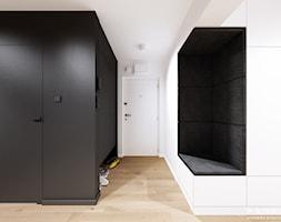 Śmiałego   Lublin - Hol / przedpokój, styl nowoczesny - zdjęcie od H+ Architektura - Homebook