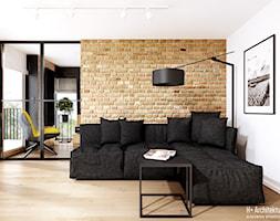Śmiałego   Lublin - Salon, styl nowoczesny - zdjęcie od H+ Architektura - Homebook