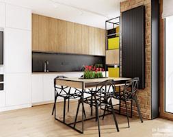 Śmiałego   Lublin - Kuchnia, styl nowoczesny - zdjęcie od H+ Architektura - Homebook