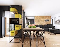 Śmiałego   Lublin - Jadalnia, styl nowoczesny - zdjęcie od H+ Architektura - Homebook