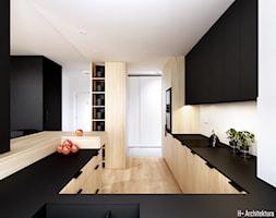 Konwaliowa 02   Turka - Kuchnia, styl nowoczesny - zdjęcie od H+ Architektura - Homebook
