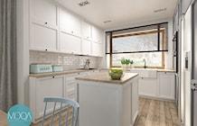 Kuchnia w domu jednorodzinnym - zdjęcie od MOQA
