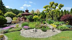 Duży ogród - aranżacje, pomysły, inspiracje