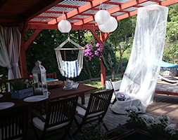 nasza oaza wypoczynku - Duży taras, styl klasyczny - zdjęcie od Aobarska