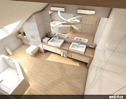 Klimatyczna łazienka na poddaszu - zdjęcie od MAXFLIZ