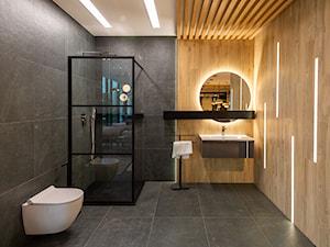 Stylowy minimalizm – dwa kolory w łazience