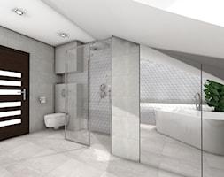 Skandynawski salon kąpielowy - zdjęcie od MAXFLIZ