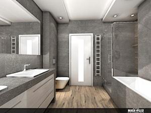 Nowoczesne połaczenie betonu i drewna - zdjęcie od MAXFLIZ