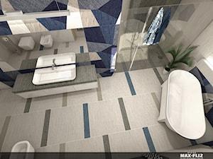 Nowoczesny salon kąpielowy - zdjęcie od MAXFLIZ