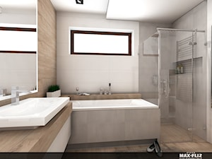 Nowoczesna łazienka - zdjęcie od MAXFLIZ