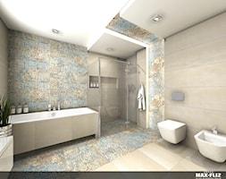 Efektowna modna łazienka - zdjęcie od MAXFLIZ