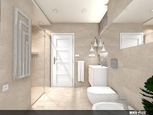 Ponadczasowa łazienka na poddaszu - zdjęcie od MAXFLIZ