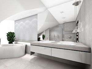 Skandynawski salon kąpielowy