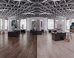Wnętrza publiczne styl Minimalistyczny - zdjęcie od SWISS KRONO