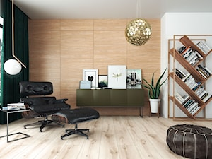 Ściana inspirowana drewnem czy kamieniem? Zobacz pomysły na aranżację Twojego wnętrza