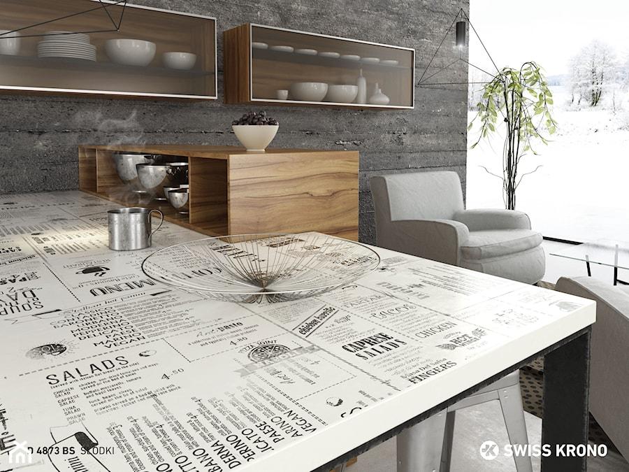 Blaty kuchenne - Kuchnia, styl industrialny - zdjęcie od SWISS KRONO