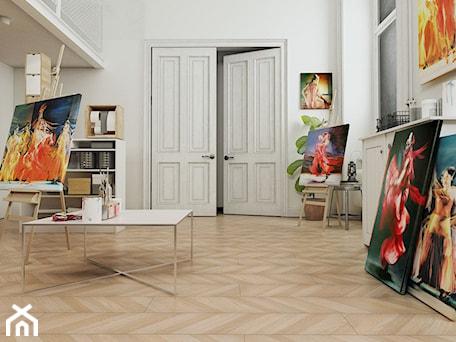 Aranżacje wnętrz - Wnętrza publiczne: Panele podłogowe D4561 Dąb Carmen - SWISS KRONO. Przeglądaj, dodawaj i zapisuj najlepsze zdjęcia, pomysły i inspiracje designerskie. W bazie mamy już prawie milion fotografii!
