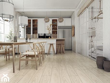 Aranżacje wnętrz - Jadalnia: Panele podłogowe D4579 Dąb Charlie - SWISS KRONO. Przeglądaj, dodawaj i zapisuj najlepsze zdjęcia, pomysły i inspiracje designerskie. W bazie mamy już prawie milion fotografii!