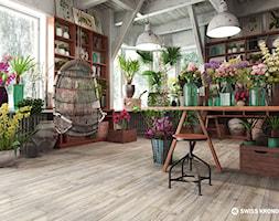 Panele podłogowe - Wnętrza publiczne, styl industrialny - zdjęcie od SWISS KRONO