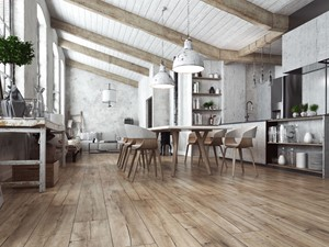 Panele podłogowe i efekt starego drewna – zobacz podłogi inspirowane stylem vintage