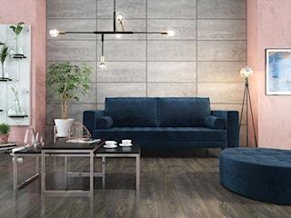 Kamień i beton na ścianie – sposób na modne wnętrze