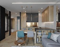 Mieszkanie Mokotów - Kuchnia, styl nowoczesny - zdjęcie od Przestrzenie - Homebook