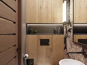 Łazienka i wc w stylu loft