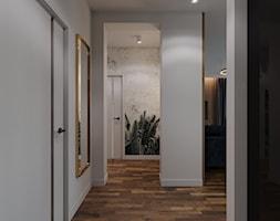 Mieszkanie na Poznańskiej, Kraków - Hol / przedpokój, styl nowoczesny - zdjęcie od Przestrzenie - Homebook