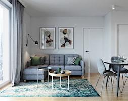 Kraków, Pękowicka - mieszkanie na wynajem - Salon, styl nowoczesny - zdjęcie od Przestrzenie - Homebook