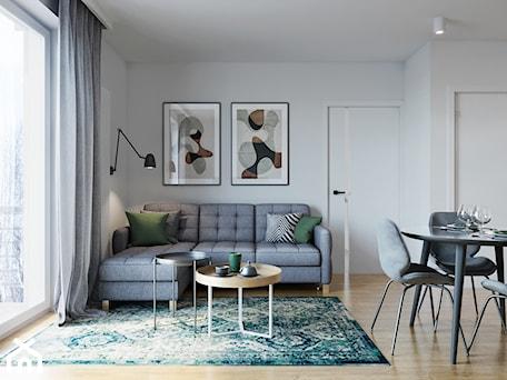 Aranżacje wnętrz - Salon: Kraków, Pękowicka - mieszkanie na wynajem - Salon, styl nowoczesny - Przestrzenie. Przeglądaj, dodawaj i zapisuj najlepsze zdjęcia, pomysły i inspiracje designerskie. W bazie mamy już prawie milion fotografii!