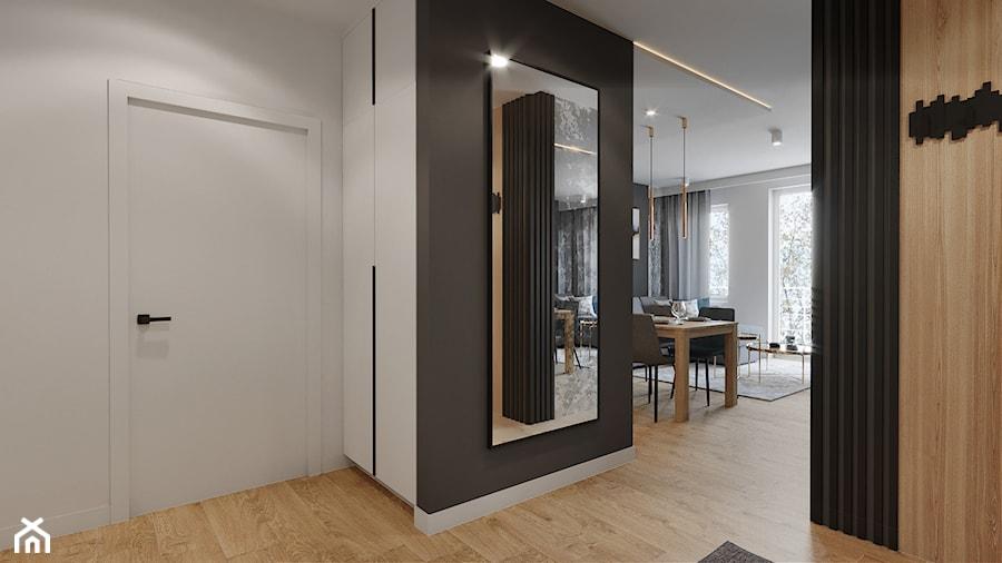 Mieszkanie Mokotów - Hol / przedpokój, styl nowoczesny - zdjęcie od Przestrzenie