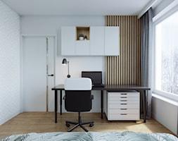 Kraków, Pękowicka - mieszkanie na wynajem - Sypialnia, styl nowoczesny - zdjęcie od Przestrzenie - Homebook