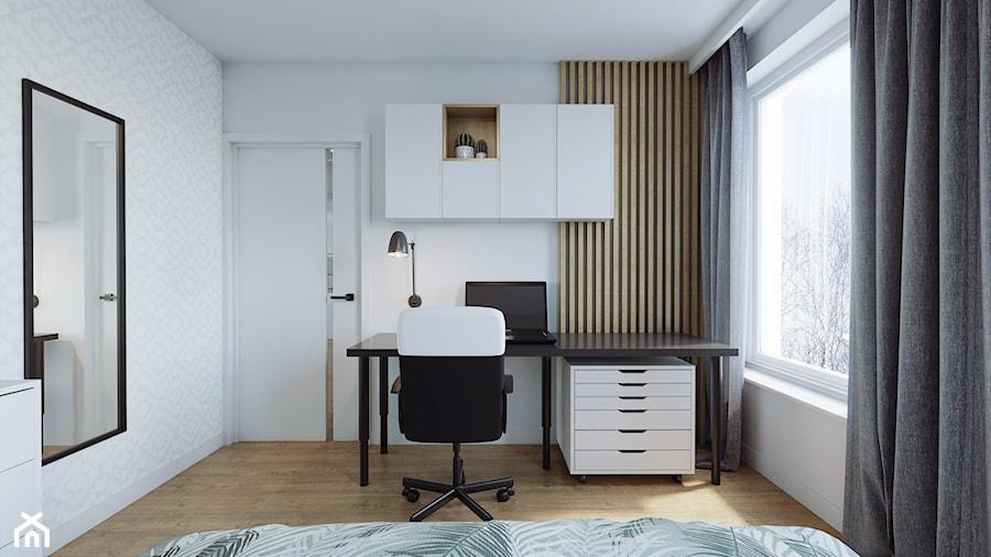 Kraków, Pękowicka - mieszkanie na wynajem - Sypialnia, styl nowoczesny - zdjęcie od Przestrzenie