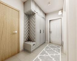 Nowoczesny styl prowansalski - Średni beżowy hol / przedpokój, styl nowoczesny - zdjęcie od Przestrzenie